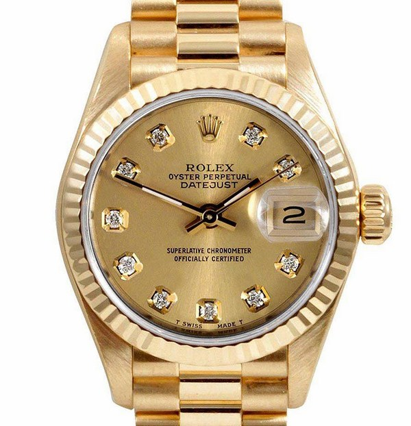 Đồng hồ Rolex nam Automatic Full gold R006